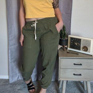NWT Blank NYC linen joggers brand new
